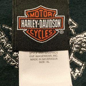 Harley-Davidson Shirts - Harley Davidson Motorcycles Faded Sleeveless Shirt